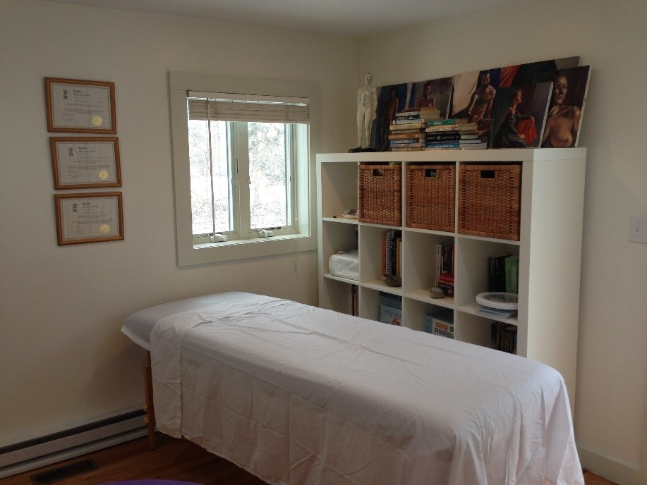 Reiki Room at the Cottage Studio